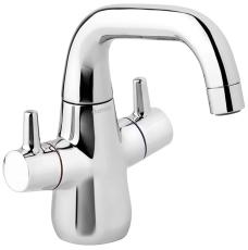 Damixa Bell håndvaskarmatur 2 grebs uden bundventil