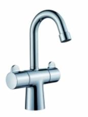 Børma Skanmix 2-grebs Håndvaskarmatur krom 2-grebs uden bund