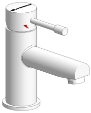 Navona håndvaskarmatur krom