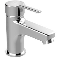 Børma Promix Håndvaskarmatur krom 1-grebs push open bundvent