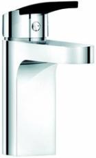 Damixa Slate håndvaskbatteri med X-Change base soft pex slan