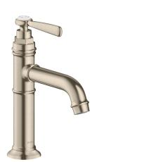 AXOR Montreux 1G håndvaskarmatur 100 u/lov børstet nikkel