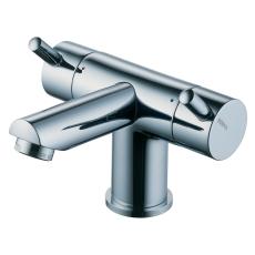 Børma A2 Håndvaskarmatur krom 2-grebs med bundventil