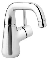 Bell håndvaskarmatur med 1 greb og lav tud