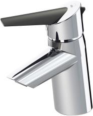 Oras Optima håndvaskarmatur med bundventil med øko-knap
