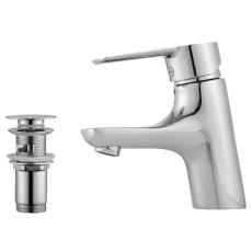 Mora Cera etgrebsarmatur B5 til håndvask med push down