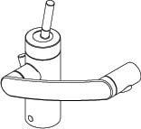 Damixa Arc håndvask batteri krom