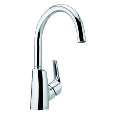 Damixa Rowan håndvask høj tud med bundventil
