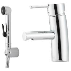 Mora MMix håndvaskarmatur med sidenbruser, ess (koldstart).