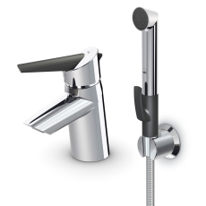 Optima håndvaskarmatur uden bundventil med Bidetta og  øko-k