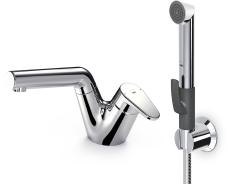 Oras Signa håndvaskarmatur med Bidetta og bundventil.