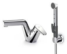Oras Signa håndvaskarmatur hybrid med Bidetta og bundventil.