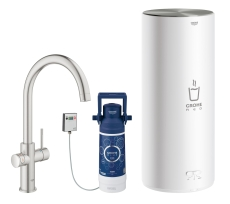GROHE Red Duo Armatur C-tud og L-size kedel