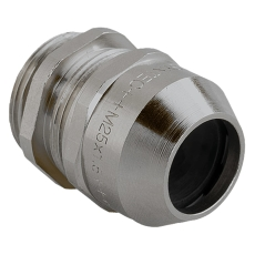 Messing Forskruning M25 IP68 kabel Ø10-17 mm gevind L:7 mm