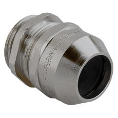 Messing Forskruning M32 IP68 kabel Ø13-21 mm gevind L:8 mm
