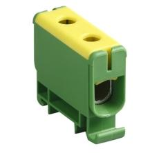 Klemme KE61 CU2,5-50/AL6-50 gul/grøn