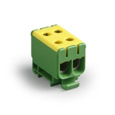 Klemme KE66 CU2,5-50/AL6-50 gul/grøn