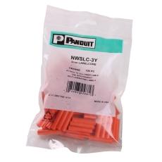 Labelhylse 3 mm til mærkning af simplex fiber ledere (100)