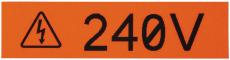 Panduit label 12,7 mm hvid (længde á 7,6 meter)