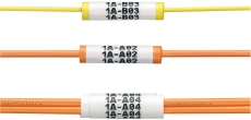 Panduit tylle til wrap around gul til 2 mm kabel