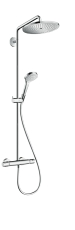 hansgrohe Croma Select S Showerpipe 280 1jet med termostat
