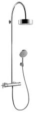 Axor Citterio Showerpipe m/termostat krom