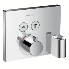 Hansgrohe ShowerSelect termost t indbygn m 2 afspær +slangeu
