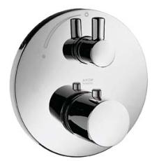 Axor Uno termostat m/afsp. m/Zero greb krom
