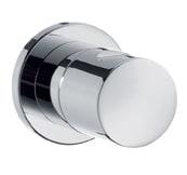 Hansgrohe Afsp.ventil med cylindergreb krom