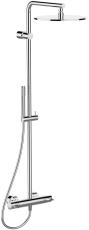 Børma Idealrain Luxe brusesystem med termostatarmtur krom
