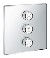 Grohtherm SmartControl Triple volume kontrol sæt