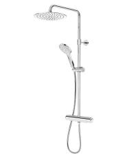 GBG G4 brusersæt firkantet hoved/håndbruser, logic termostat