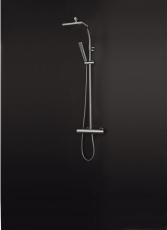 Quadra Brusesæt/Termostatblander 160 Cc Krom