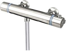 Cassøe termostat - rustfri stål