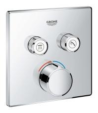 Grohe SmartControl indbygget termostat med 2 ventiler