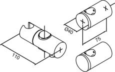 Damixa Reperationssæt vario reperationssæt til bruserstang