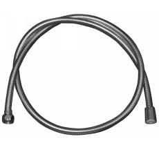 1250 mm Metalslange krom 1kon. 1omløber