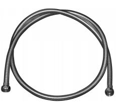 2000 mm Metalslange krom 2 omløber