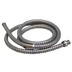 1250 mm Plastoflex slange krom 1kon.