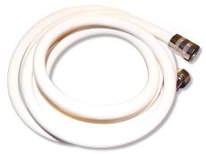 """PVC slange hvid 1500 mm 1/2"""""""