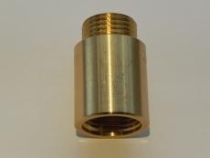 """1/2"""" x 15 mm Haneforlænger rå"""
