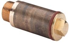 """1/2"""" x 50 mm Rødgods Silicium Bronze haneforlænger"""