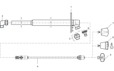 Mora Garden II topstykke inklusiv inderspindel 58CM. T/74345