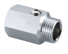 Securex 10-2220 DN10 muffe/nippel forkromet