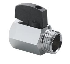 Securex 10-2720 DN10 muffe/nippel forkromet