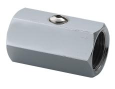 Securex 16-2220 DN10 muffe/muffe forkromet dr