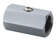 "Securex 16-2230 DN15 1/2"" muffe/muffe forkromet"