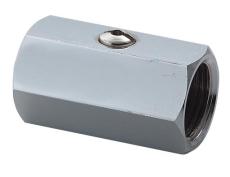 "Securex 16-2240 DN20 3/4"" muffe/muffe forkromet"