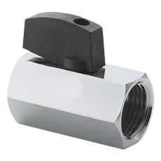 Securex 16-2730 DN15 muffe/muffe forkromet med greb