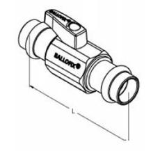 Ballofix pres 15 x 15 mm med greb